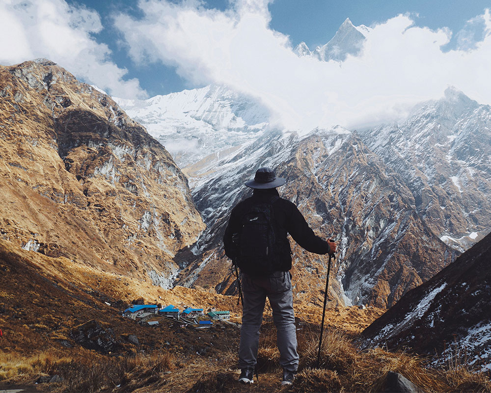 On the Trail of Annapurna