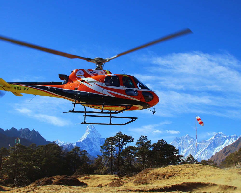 Heli Sightseeing Tour