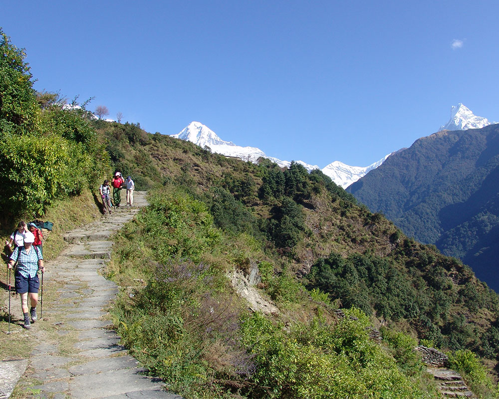 Trek to Kopra Ridge