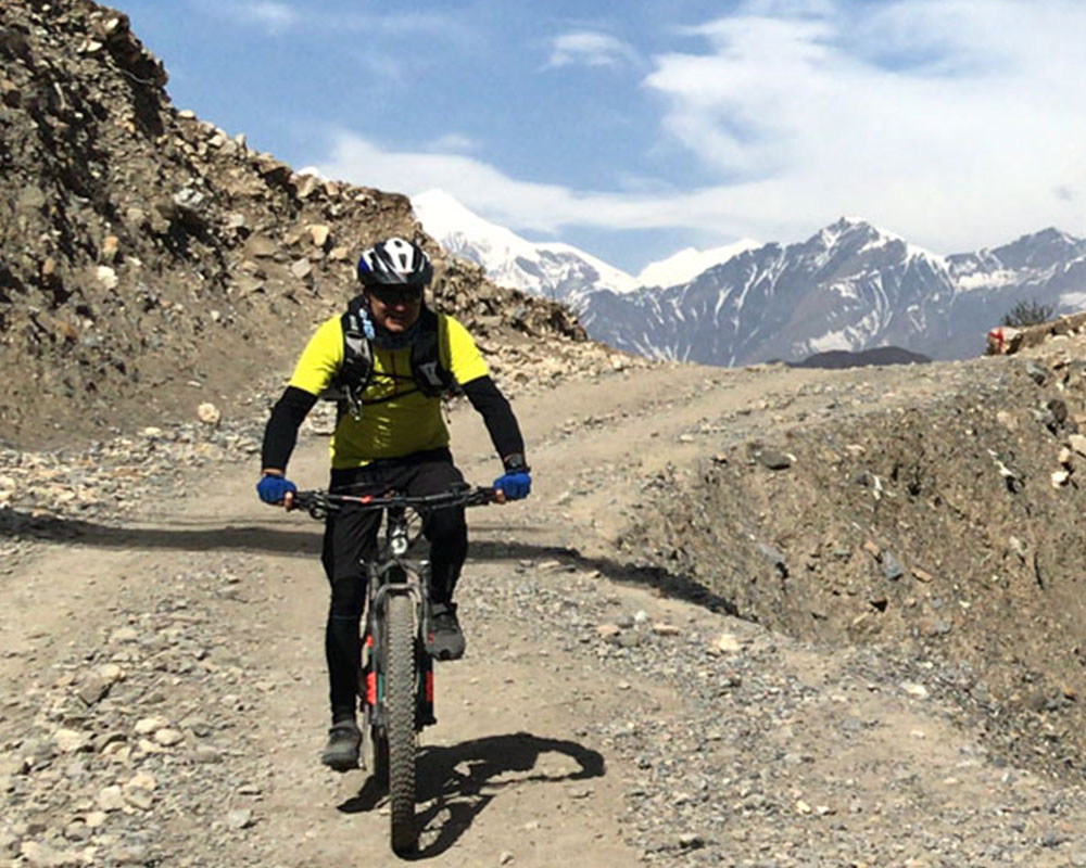 Annapurna Circuit by Mountain Bike