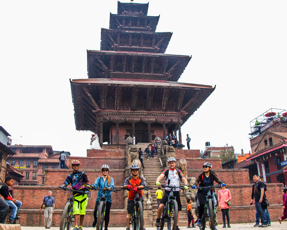 Rural Heritage by Mt. Bike